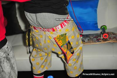 fotos de lil wayne busta rhymes birdman lil chuckee en la fiesta del All Star de la NBA 2012