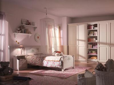 foto dormitorio juvenil color rosa