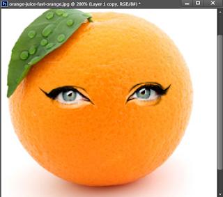 Cara memberikan wajah dengan photoshop CS