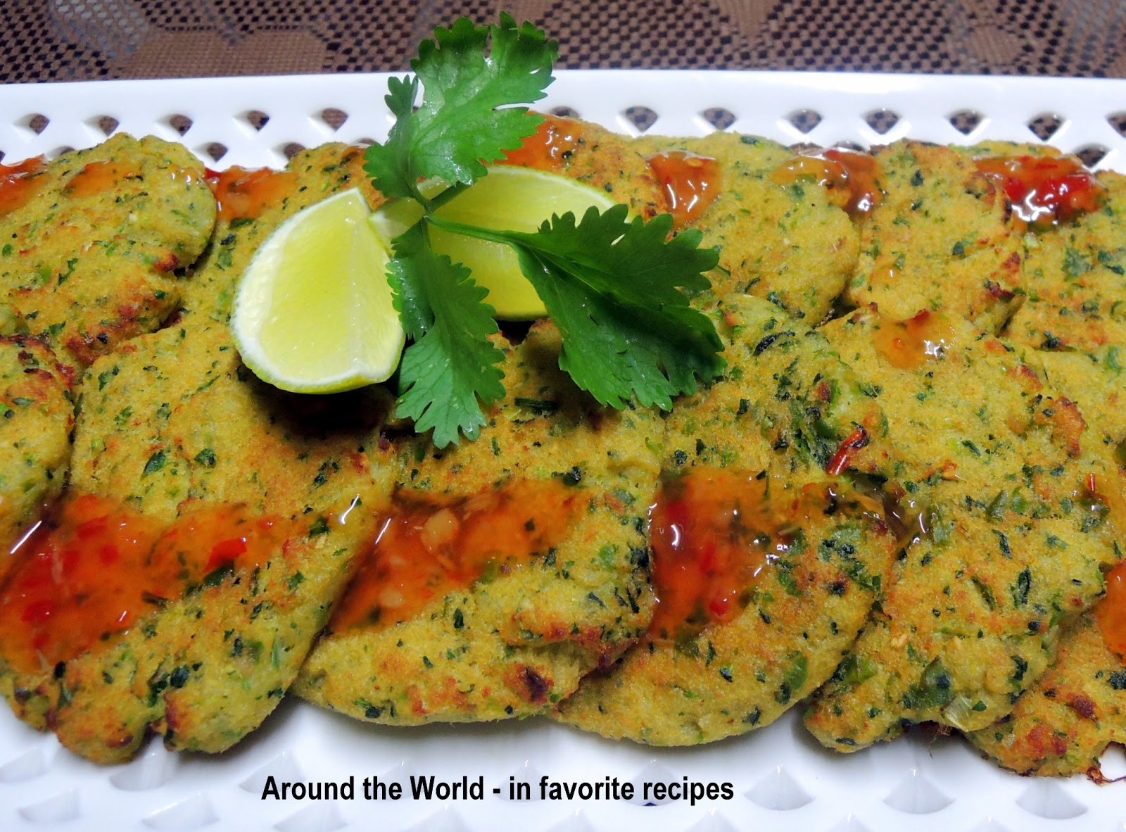 Around the world in favorite recipes fish and seafood for Baked fish cakes
