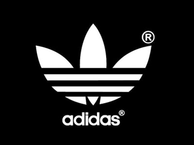 black background adidas logo e logos
