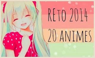 RETO: 20 animes