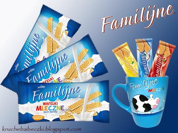 Słodki konkurs z wafelkami Familijne od Jutrzenki - przypomnienie :)