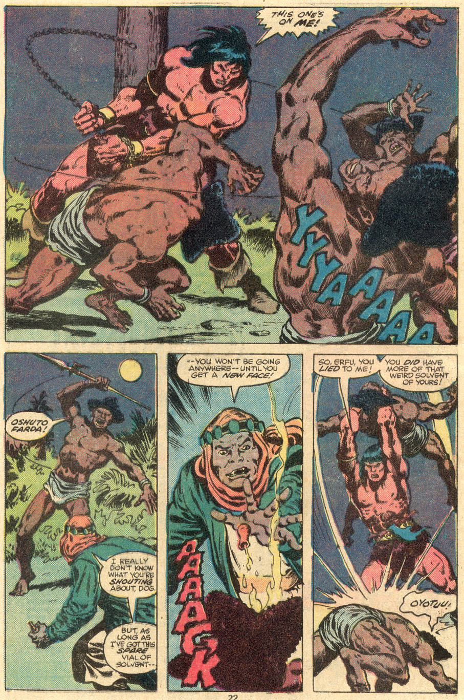 Conan the Barbarian (1970) Issue #108 #120 - English 15