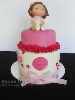 bolo decorado batizado bragança