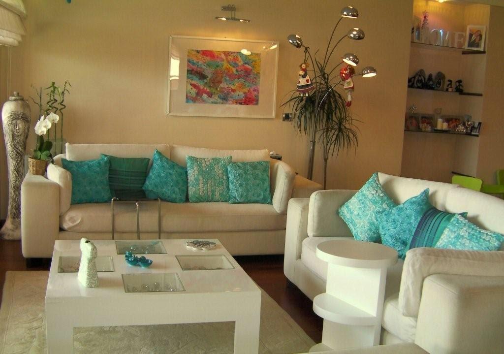 Morlu mutfak turkuaz dekorasyon for 2 1 salon dekorasyonu