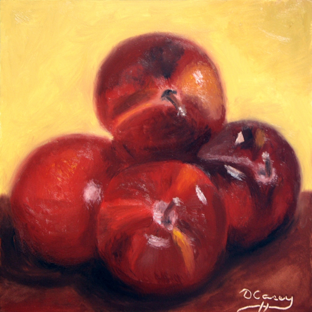 140831 - Kitchen Painting - Plums 002a 6x6 oil on gessobord - Dave Casey - TheDailyPainter.jpg
