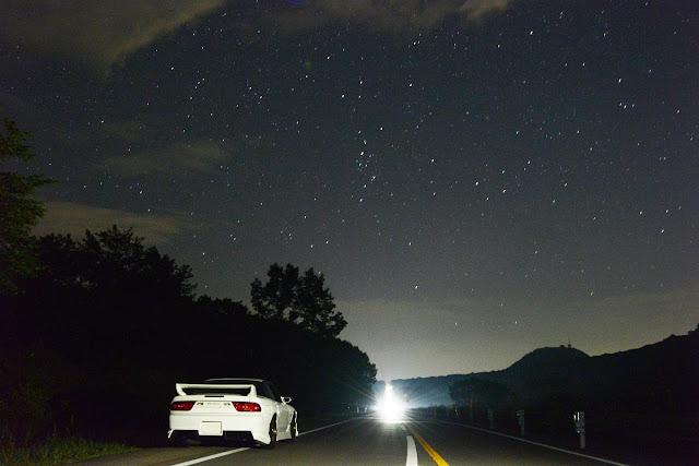 Nissan 180SX, JDM, samochody na rynek japoński, kultowe auta, driftowozy, najlepsze samochody do driftu, znane, zdjęcia samochodów w nocy
