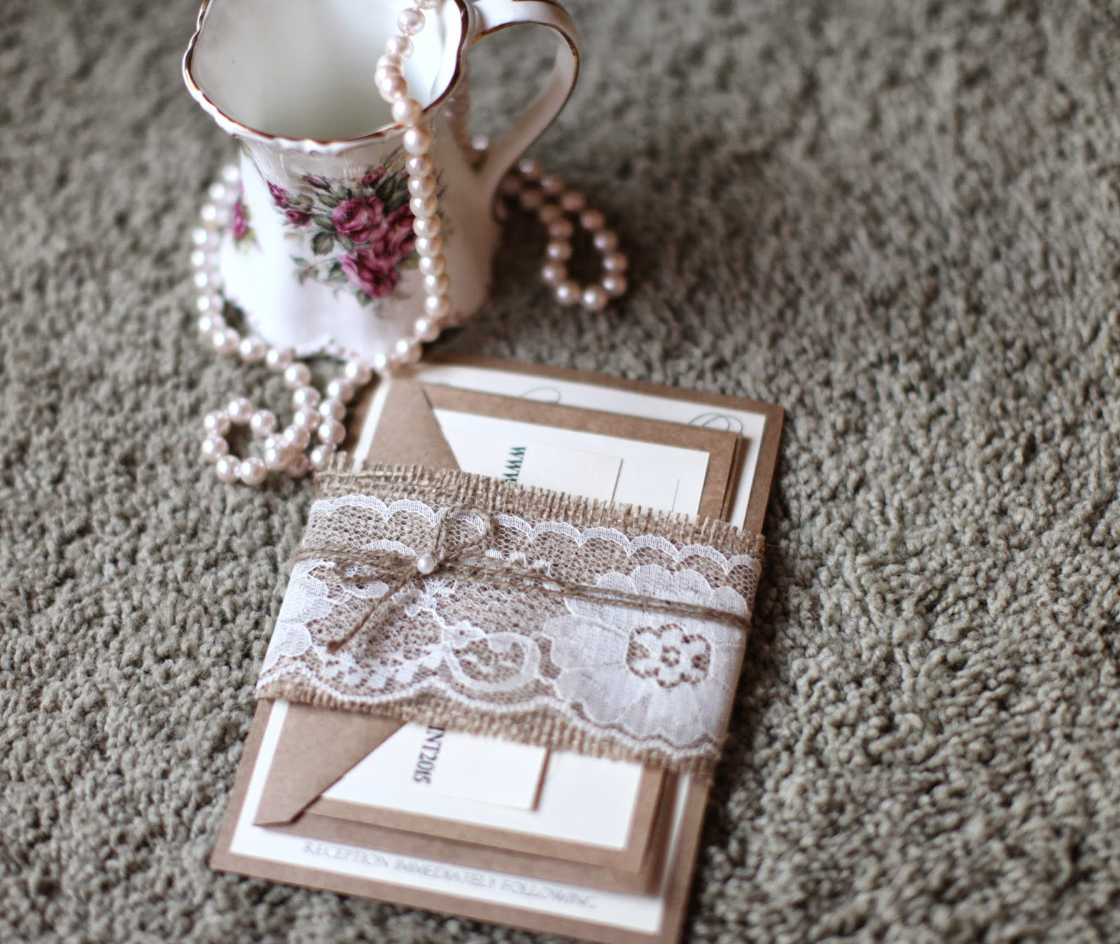 His hers and ours diy rustic chic wedding invitations his hers and ours diy solutioingenieria Gallery