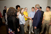 Lauren With President George W. Bush