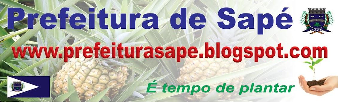 GOVERNO MUNICIPAL DE SAPÉ