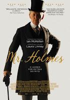 """Cinema """"Mr Holmes"""" um filme sobre Sherlock Holmes Cinema - Sugestões de filmes da semana"""