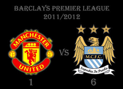 Manchester United vs Manchester City Result