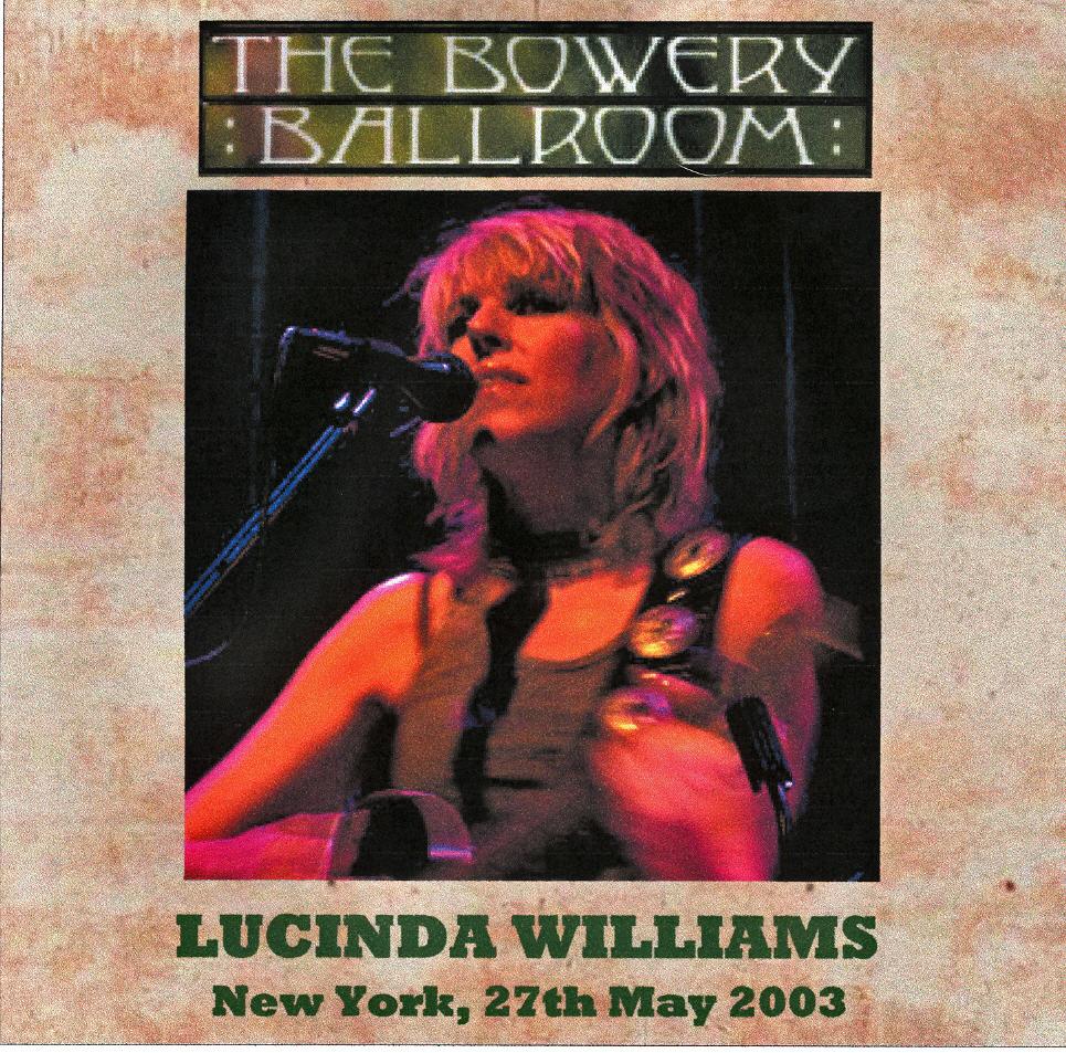 Lucinda Williams Uk Tour