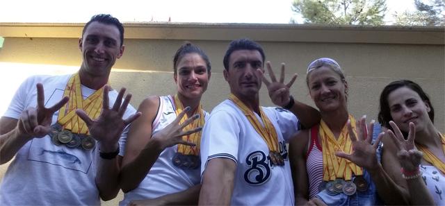 Campeonato de España Natación Master Aranjuez