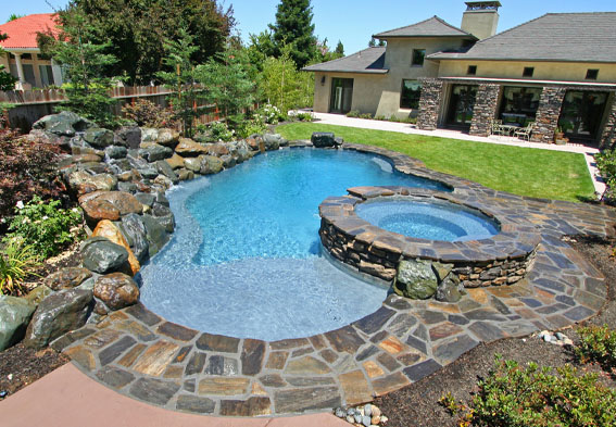 Swimming pool contractors swimming pool builders pool for In ground swimming pool contractors