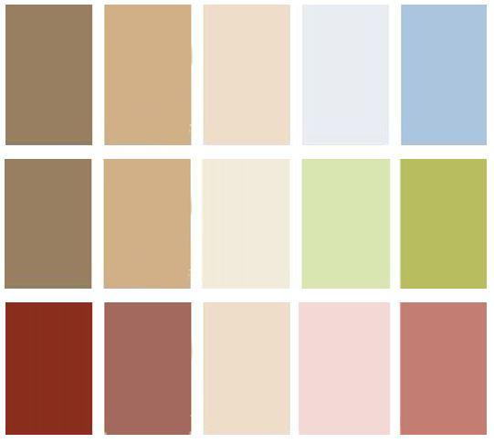 Mi casa mi oasis decoraci n patri blanco - Paleta de colores para paredes interiores ...