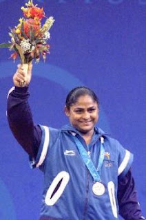 Karnam Malleswari Indian Women Weightlifter