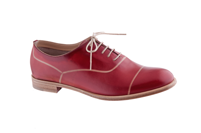 Zapatos rojos cómodos para mujer