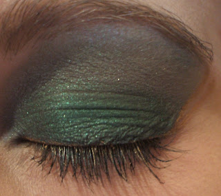 Primer on Definitelybeauty  Makeup Look  Blue And Green