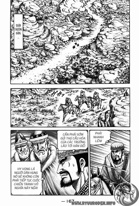 Chú Bé Rồng - Ryuuroden chap 121 - Trang 34