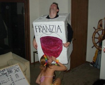 Franzia Wine Box Costume