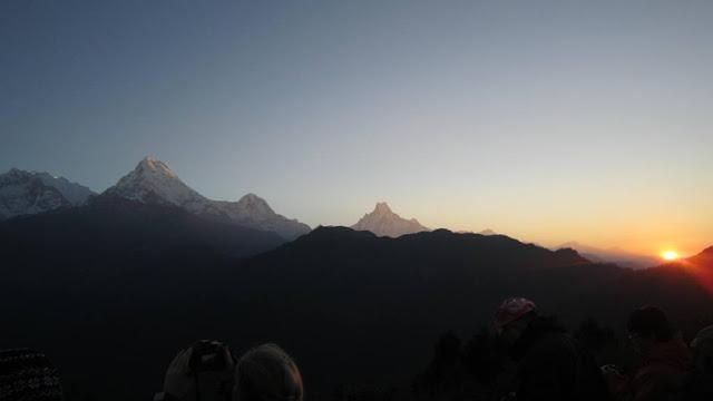 Sunrise from Poonhill ( Ghorepani ,Poonhill trekking )