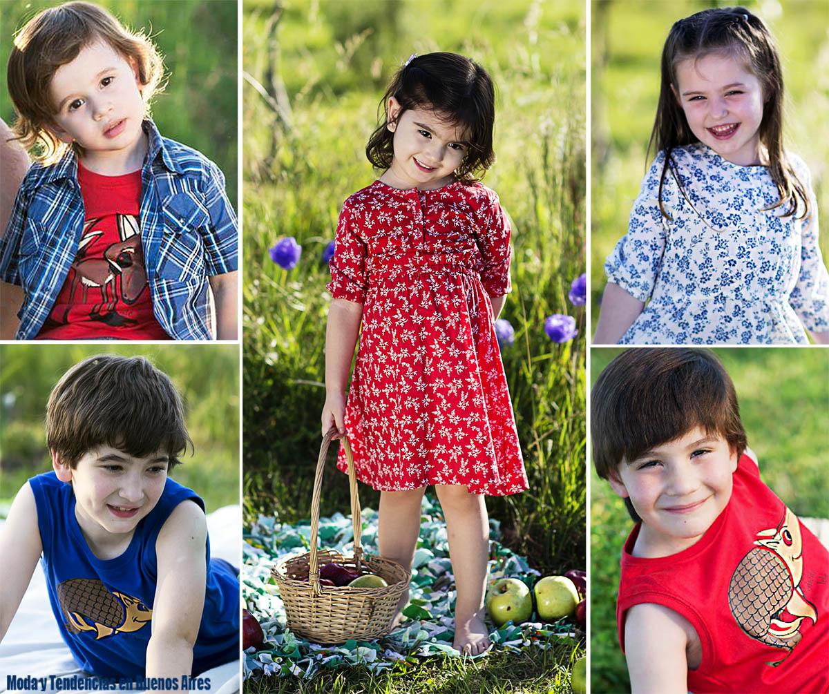 Moda infantil primavera verano 2016. Chichí Lelé primavera verano 2016 ropa para niños y niñas