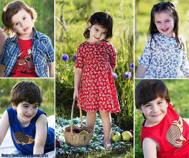 Moda infantil primavera verano 2016. Chichí Lelé primavera verano 2016 ropa para niños y niñas.