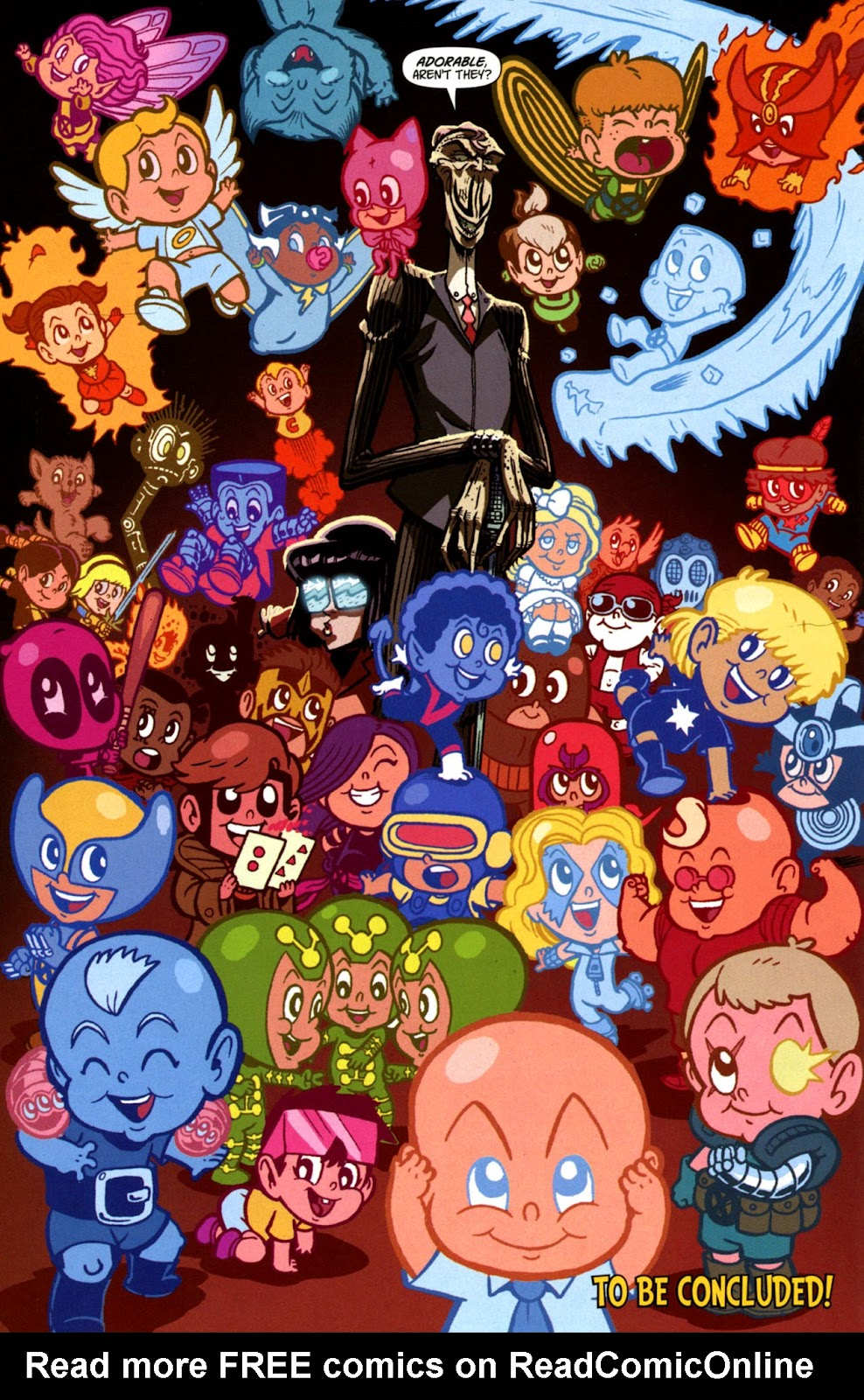 Read online X-Babies comic -  Issue #3 - 24