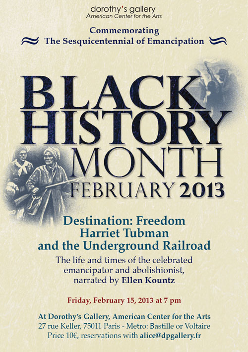 Black History Month 2013 / Ellen Kountz by Yukié Matsushita