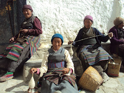 ....spinning yarn...