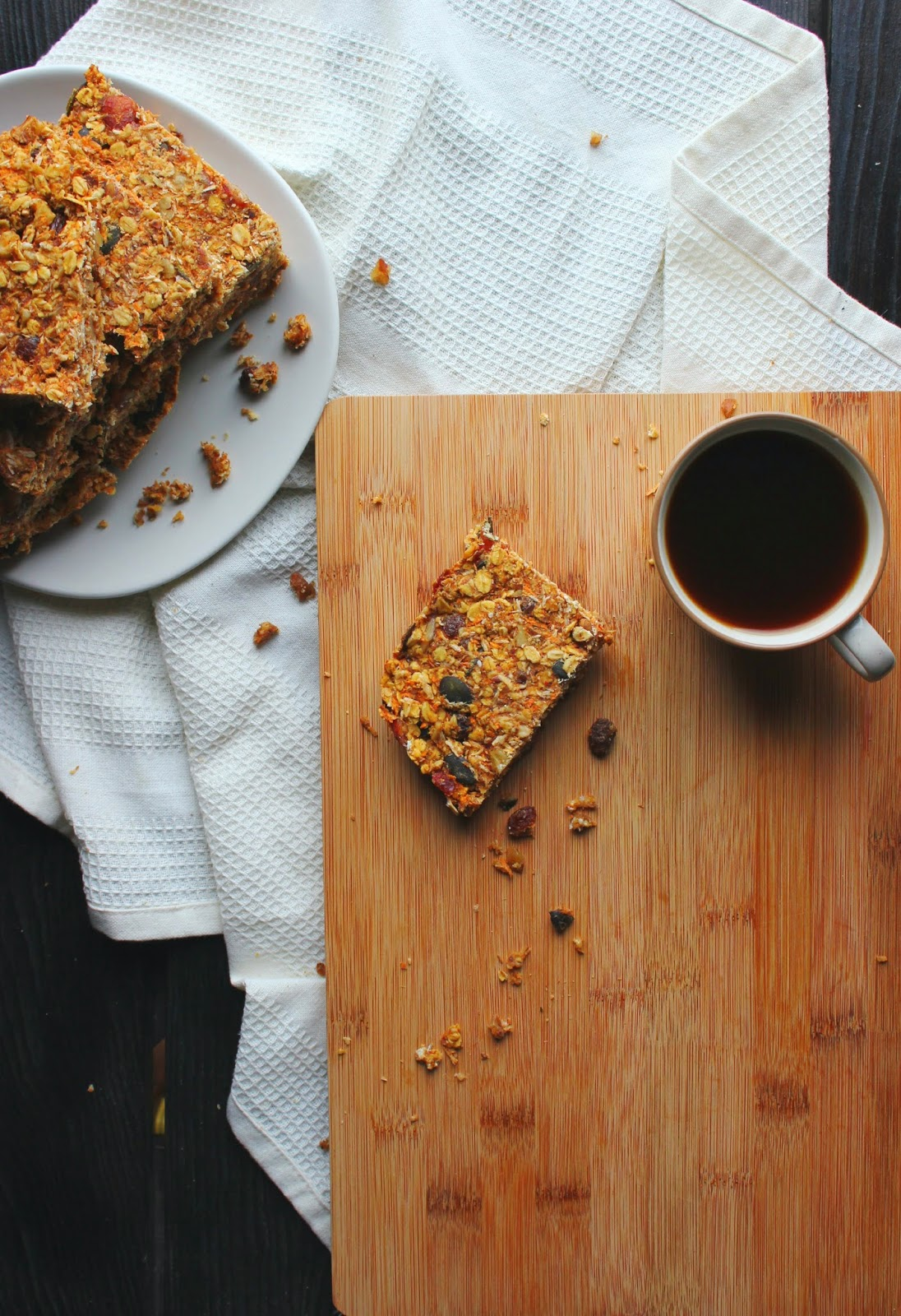 Bad Ass Breakfast Bars | happy hearted kitchen