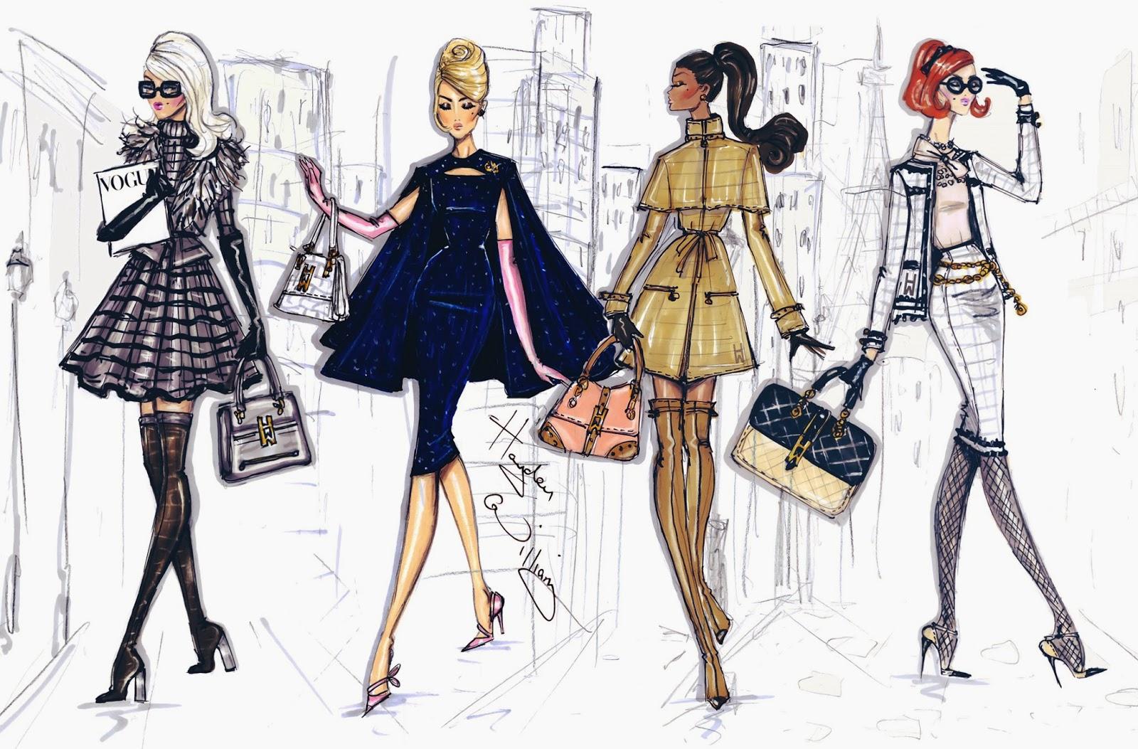 Hayden Williams Fashion Illustrations January 2014