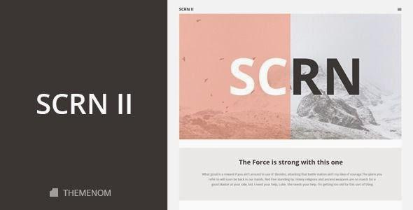 SCRN II - Creative HTML Template