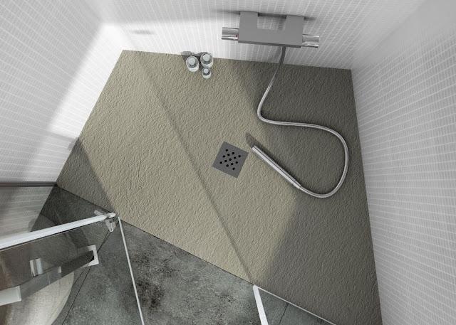 Душевой поддон Fiora Elax Classic в ванной комнате