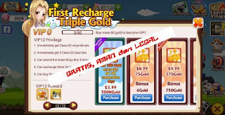 Free Gold SD Ninja Heroes