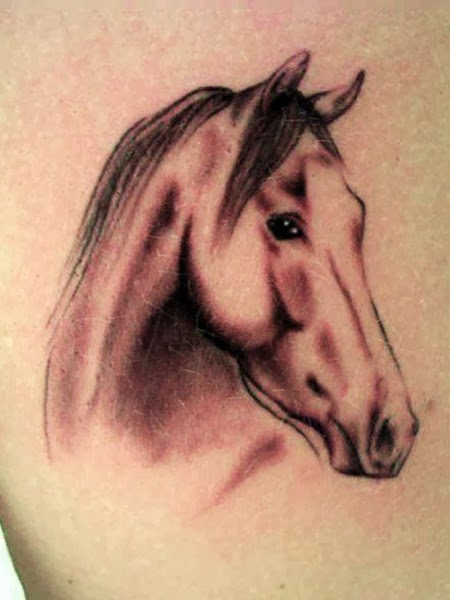 The Best Horse Tattoos (Gallery 1)