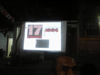 Malam Tuguran Kemerdekaan Republik Indonesia ke-70