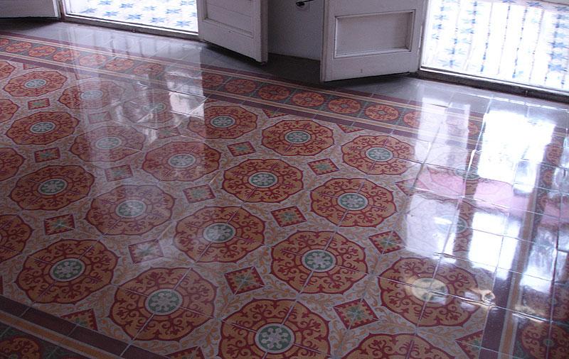 Los suelos hidr ulicos una maravilla decora y - Como puedo sacar brillo al piso de terrazo ...