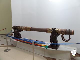 Chinggis Khaan's whip.