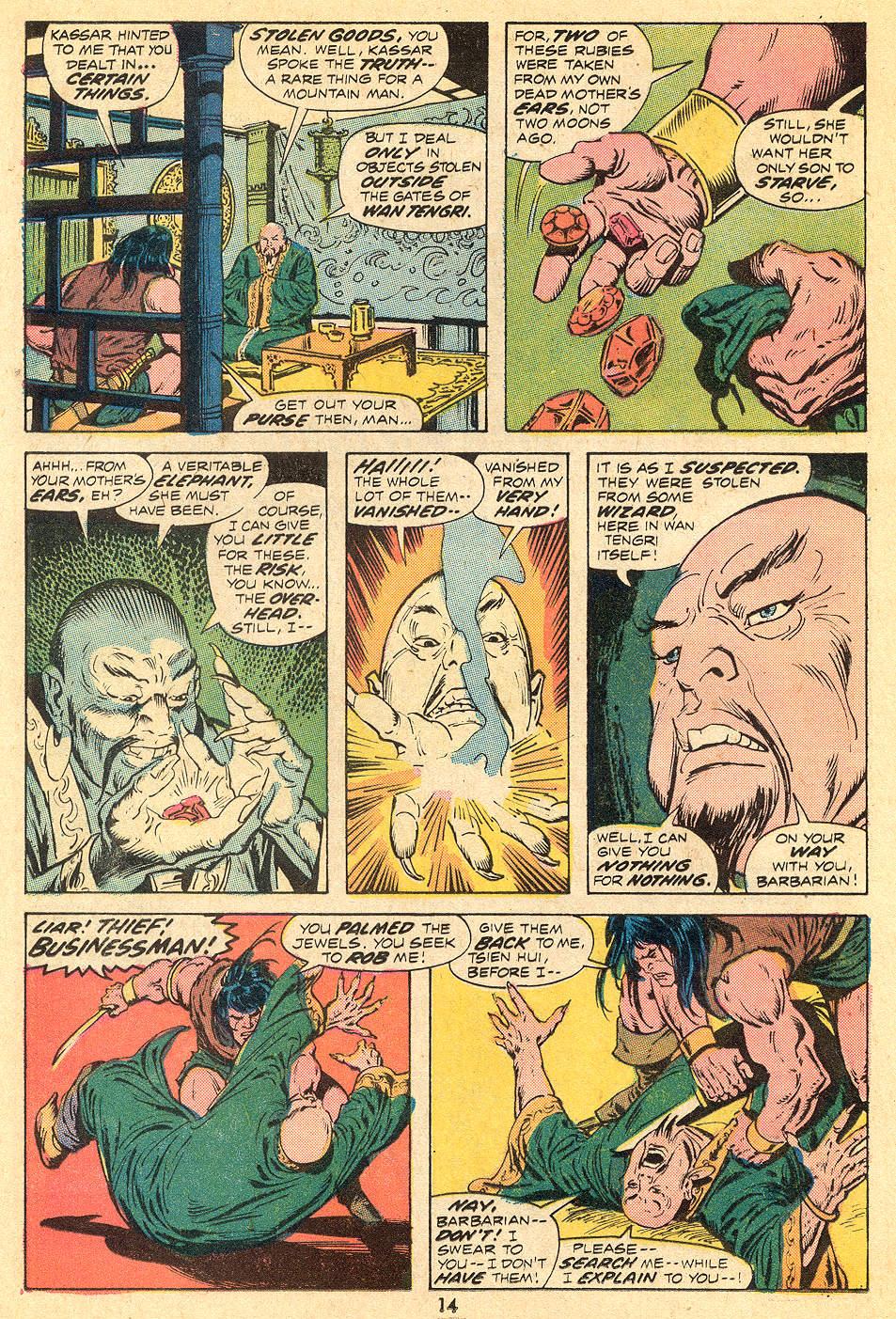 Conan the Barbarian (1970) Issue #32 #44 - English 9