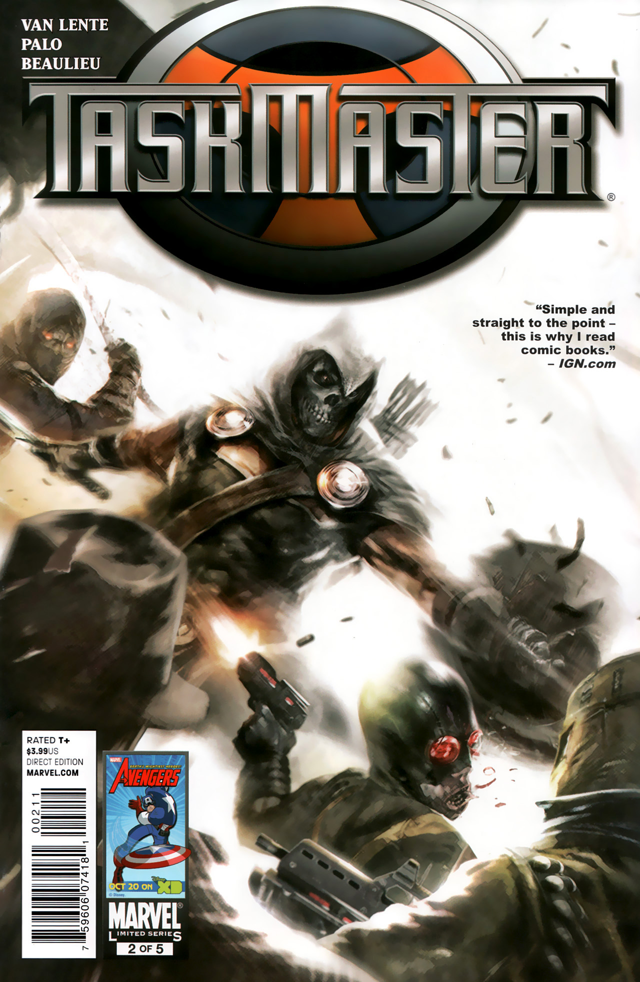 Read online Taskmaster (2010) comic -  Issue #2 - 1