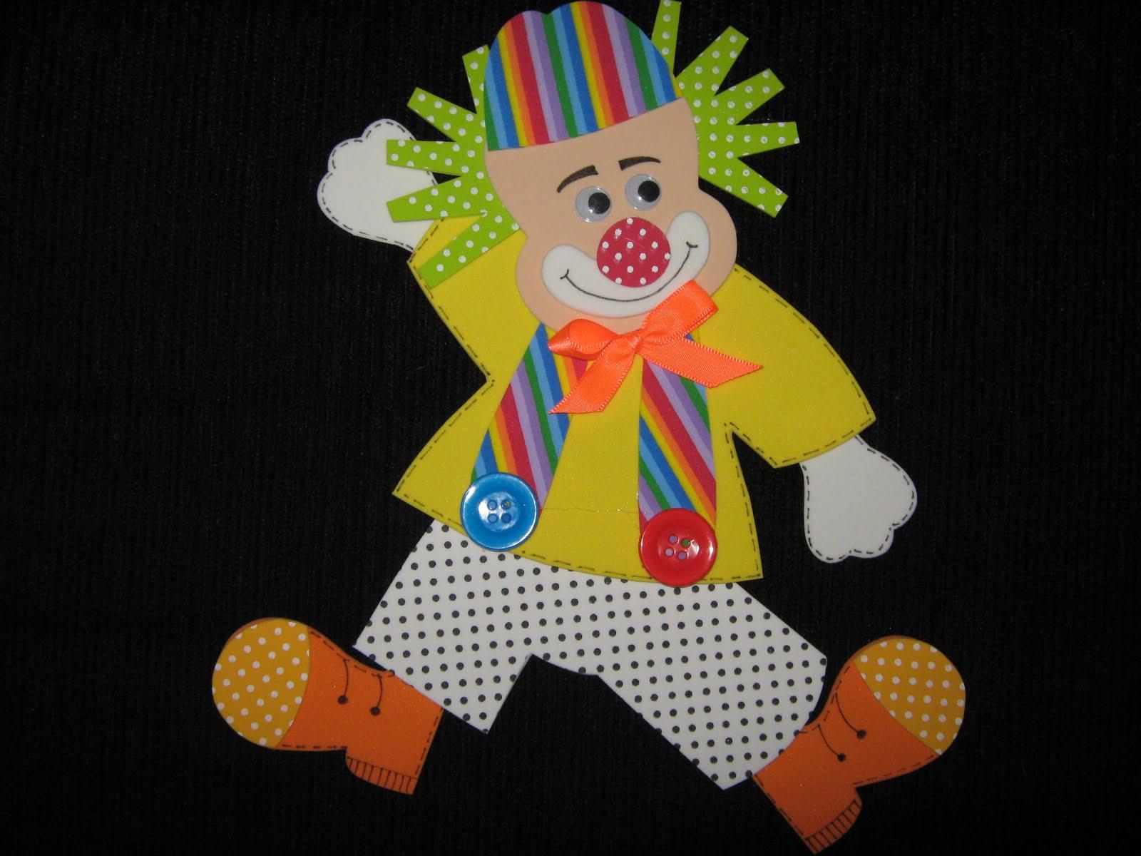 Как сделать клоуна своими руками фото