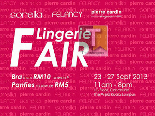 Metrojaya Lingerie Fair 2013 The Weld Shopping Mall