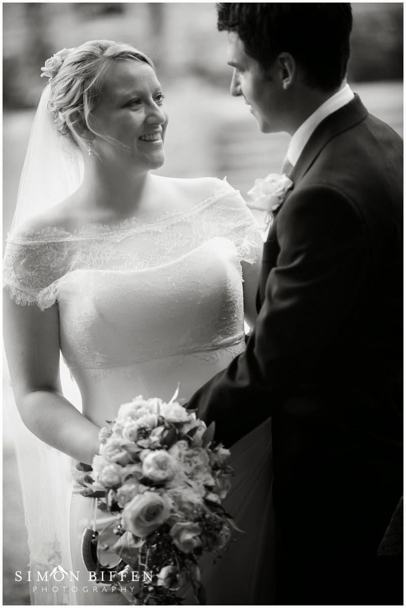 Huntsham Court bride and groom