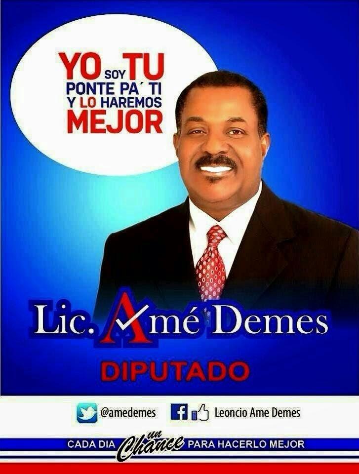 Amé Demes, diputado!