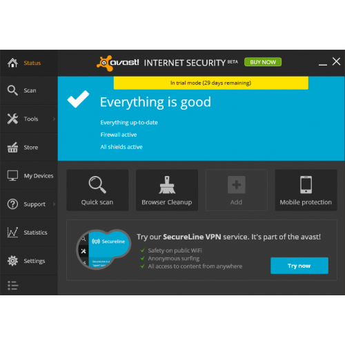 avast internet security free full version