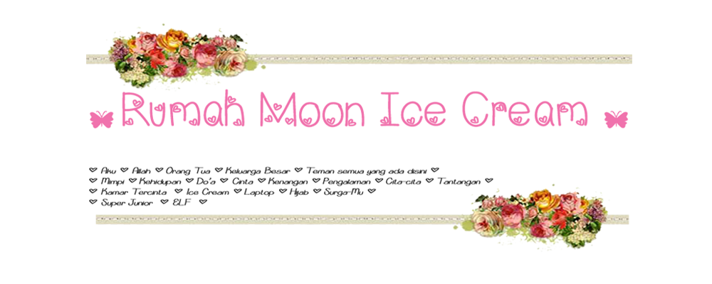 ✿ Rumah Moon Ice Cream ✿