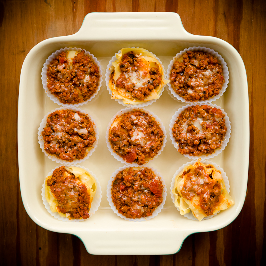 Lasagna Cupcakes Two Ways | Cupcake Project